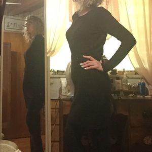 Beautiful IN San Francisco Black Sweater Dress